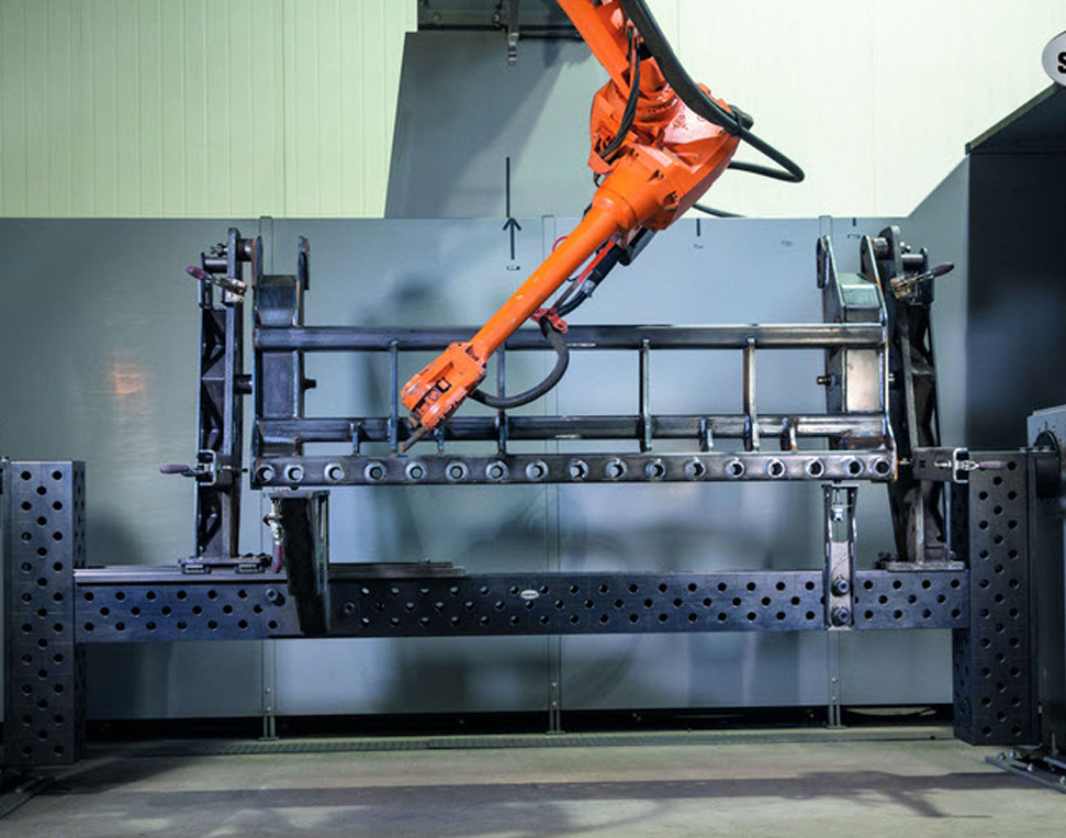 mesa soldadura robot